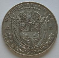 Panama  1/4 De Balboa  1962  Argento  Silver - Panama