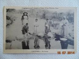 CPSM  CONGREGATION DE SAINT JOSEPH DE CLUNY  CACONDA Au Lavage  Photo822 - Ethniques & Cultures