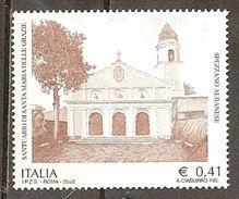 Italy. Scott # 2484 MNH. Santa Maria Delle Grazie Sanctuary. 2002 - 6. 1946-.. Repubblica