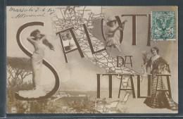 - CPA ITALIE - Saluti Da Italia - Unclassified