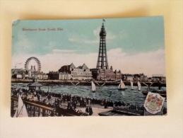 BLACKPOOL FROM NORTH PIER NON VIAGGIATA - Blackpool