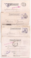 B185 - STALAG IV A - LOT De 4 Kriegsgefangenenpost - Courrier De Prisonnier De Guerre - - Marcophilie (Lettres)