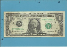 U. S. A. - 1 DOLLAR - 2003 A - Pick 515 B - NEW YORK - Billets De La Federal Reserve (1928-...)