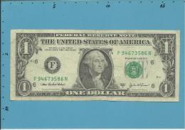 U. S. A. - 1 DOLLAR - 2003 A - Pick 515 B - ATLANTA - GEORGIA - Billets De La Federal Reserve (1928-...)