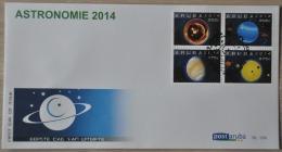 ARUBA ++ 2014 FDC E 198 ASTRONOMIE ASTRONOMY PLANETS BLANK BLANCO - Curacao, Netherlands Antilles, Aruba