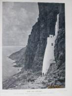 1909 Grece Crete  Les Cyclades   Entree Couvent  PANAGLA  AMORGOS SANTORIN EPANO MERIA N D  TINOS - Vieux Papiers