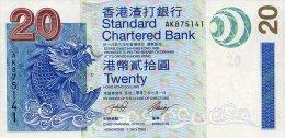 Hong Kong 20 Dollars 2010 Pick 297 UNC - Hong Kong