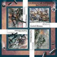 GUINEA BISSAU 2012 - WW II Battles. Official Issue - 2. Weltkrieg