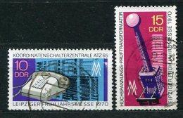 DDR Nr.1551/2       O  Used       (16841) ( Jahr: 1970 ) - [6] République Démocratique