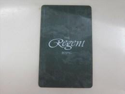 The Regent Beijing - Hotel Keycards