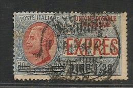ITALIA - 1921 - EXPRES - Sassone # 5 - USED - 1900-44 Vittorio Emanuele III