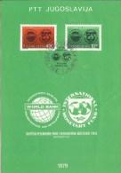 World Bank / Internaional Monetary Fund, 1979., Yugoslavia, Commemorative Flyer - Non Classificati