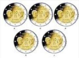 Duitsland 2013    2 Euro Commemo   ADFGJ   Verdrag Van Elysée     UNC Uit De Rol  UNC Du Rouleaux - Allemagne
