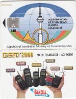 AZERBAIJAN - Backcell/Motorola, Bitag Telecom 140 Units, Used