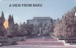 AZERBAIJAN(Alcatel) - A View From Baku 3, Aztelecom First Issue 300 Units, Used