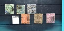 In2972 Alte Indische Briefmarken - Queen Victoria, Indien 1882-87 - Indien