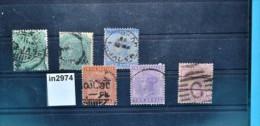 In2974 Alte Indische Briefmarken - Queen Victoria, Indien 1882-87 - Ohne Zuordnung