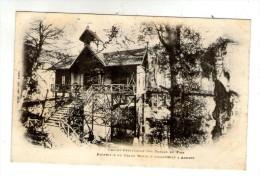 Cp ,Commerce , Chalet-restaurant Des Gorges Du Fier , Propriété Du Grand Hôtel D´Angleterre à Annecy , Dos Simple - Restaurants