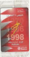 Bahrain - 14th G.C.C. Cup, 43BAHN, 1998, 3.000ex, NSB - Baharain