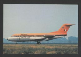 Postcard AIRCRAFT FOKKER F-28 AIRPLANE ALISARDA ITALY ITALIA AIRPLANES AVIONS - 1946-....: Moderne