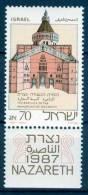 Israel - 1986, Michel/Philex No. : 1051, - MNH - *** - - Ongebruikt (met Tabs)