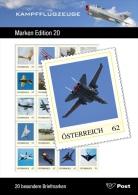 AUSTRIA ÖSTERREICH 2014  Kampfflugzeuge (Marken Edition)  MNH / ** / POSTFRISCH - 1945-.... 2nd Republic