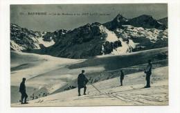 CP , SPORTS D'HIVER , Le Dauphiné, Col Du Mendaret Et Les Sept-Laux - Sports D'hiver