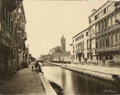 FOTO - VENEZIA  (Veneto) - Canale Di S. Maria Maggiore - Venezia (Venice)