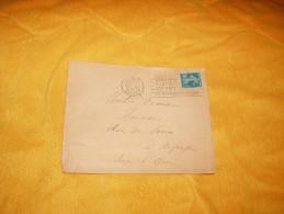 ENVELOPPE UNIQUEMENT DE 1921. / PARIS DEPART A ARPAJON / CACHETS + TIMBRE. - 1921-1960: Modern Period