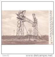 TBJTP1865-LFTD8761TARSC.Tarjeta Postal De.trabajo.BARCELONA.Colocacion Postes CABLES DE ELECTRICIDAD DE ALTA TENSION. - Postales