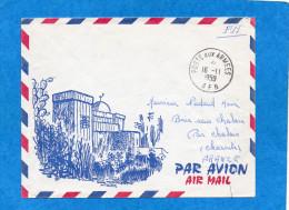 MARCOPHILIE-lettre-enveloppe Illustrée  AFN POSTE AUX ARMEES-1959-- Pour Françe - Poststempel (Briefe)