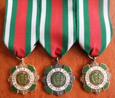 3 Orden, -Polen- Original Odznaka Za Zasługi Dla Celnictwa - Medals