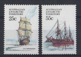 AUSTRALIAN ANTARTIC TERRITORY   NAVI: Velieri  MNH - Navi Polari E Rompighiaccio