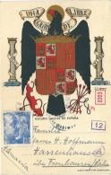 Carte Avec  Marques De Censure Pour L' Allemagne - 1931-Aujourd'hui: II. République - ....Juan Carlos I