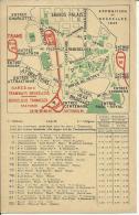 EXPOSITION DE BRUXELLES 1935, LISTE DES TRAMWAYS ... 1ere EDITION - Exposiciones Universales