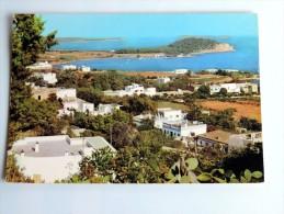 Carte Postale Ancienne : IBIZA : SANTA EULALIA : Vista Panoramica - Ibiza