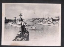 MALTA - H.M.S. QUEEN ELIZABETH   IN THE GRAND HARBOUR OF MALTA   1920s - War, Military