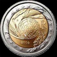 2004-ITALIA REPUBBLICA-2 EURO WORLD FOOD PROGRAMME-FDC Da Rotolino - Italia
