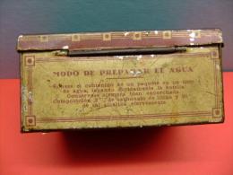 ANTIGUA CAJA- BOX- DE SALES BUSTO (farmacias Y Droguerias) - Cajas/Cofres