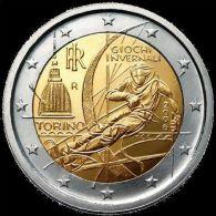 2006-ITALIA REPUBBLICA-2 EURO GIOCHI INVERNALI TORINO-FDC Da Rotolino - Italia