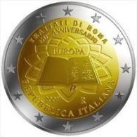2007-ITALIA REPUBBLICA-2 EURO TRATTATI DI ROMA-FDC Da Rotolino - Italia