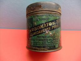 ANTIGUA CAJA - BOX- DE BICARBONATO (farmacias Y Droguerias) - Cajas/Cofres
