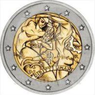 2008-ITALIA REPUBBLICA-2 EURO DIRITTI DELL'UOMO-FDC Da Rotolino - Italia