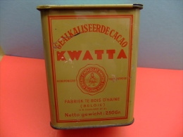 ANTIGUA CAJA - BOX  DE CACAO ALCALINISÉ KWATTA - Cajas/Cofres