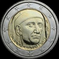 2013-ITALIA REPUBBLICA-2 EURO - BOCCACCIO-FDC Da Rotolino - Italia