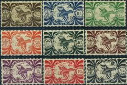 France, Nouvelle Calédonie : N° 230 à 243 Xx Année 1943 - Neufs