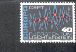 CEPT Sterne Liechtenstein 564 ** Postfrisch MNH - Europa-CEPT