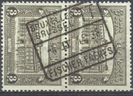4Jj-770: N° 170 In Paar: BRUXELLES BRUSSEL TT // FISCHER FRERES - Chemins De Fer