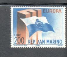 CEPT San Marino 781  ** Postfrisch MNH - Europa-CEPT