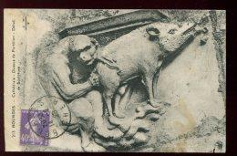 CPA 18 BOURGES Cathédrale Dessus De Portillon Détail De Sculpture - Bourges